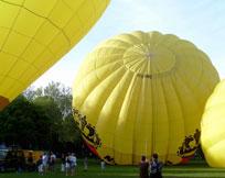 Ballonfahrt - Hier steigen Sie ein